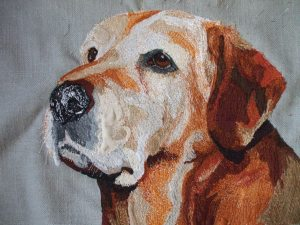 Honey Bun - this is a present for my folks. She was our childhood dog xx