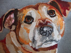 A commissioned piece, sadly Cleo has passed away now. She had such soulful eyes xxx